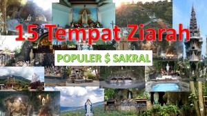 15 tempat ziarah di Indonesia yang populer dan Sakral